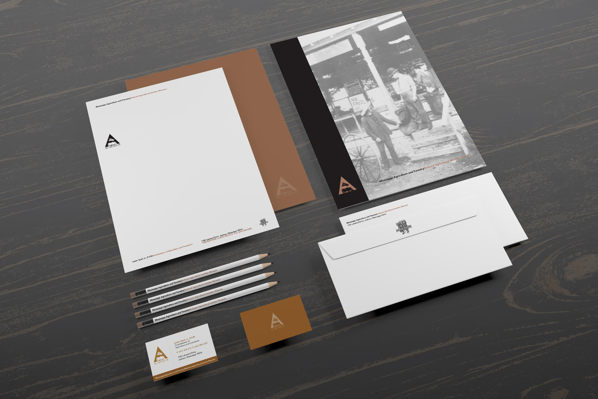 Agriculture and Aviation Museum Branding