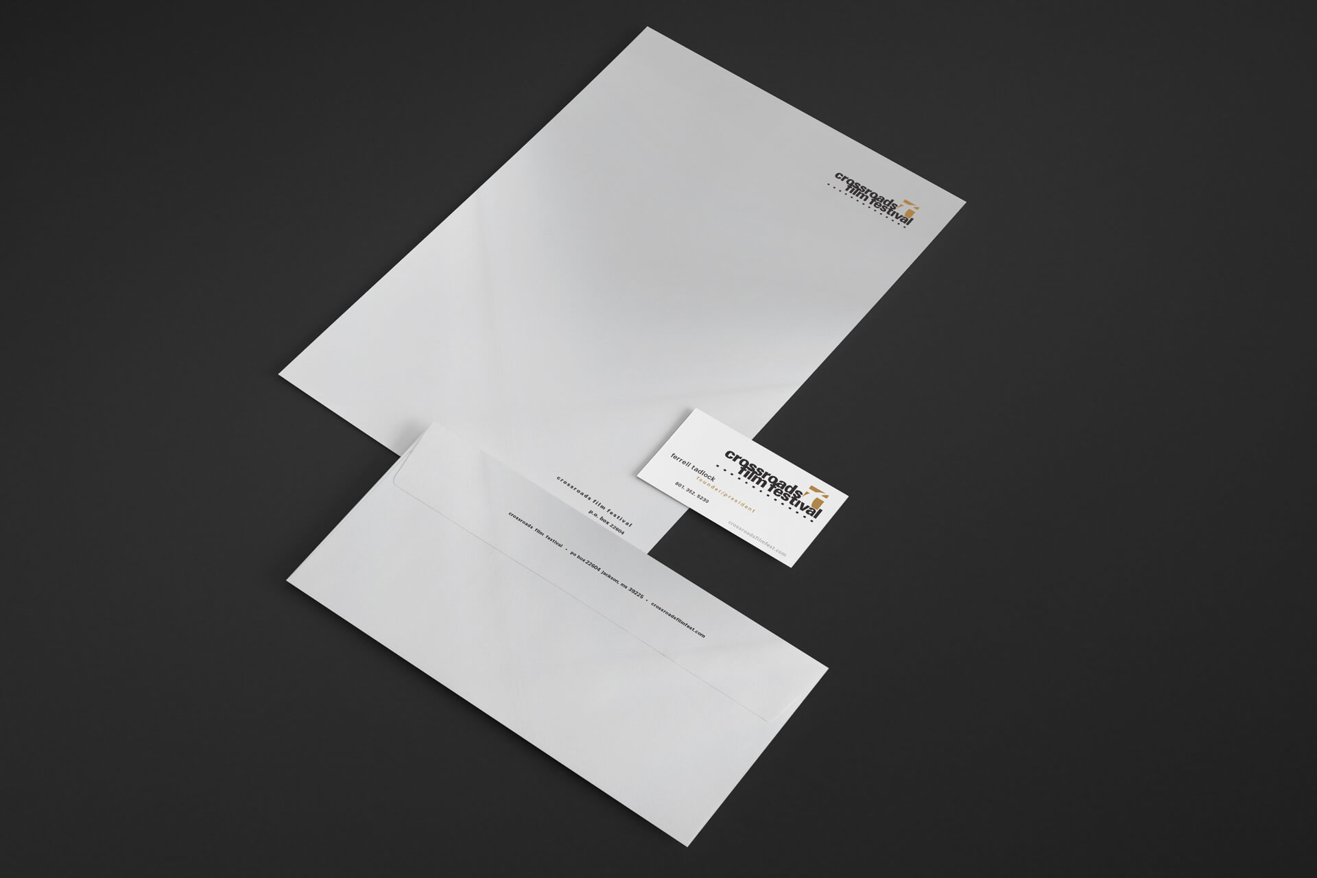 Letterhead, Envelope, Business Card Designs
