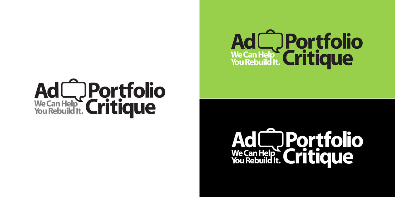 Ad Portfolio Critique Logo Design