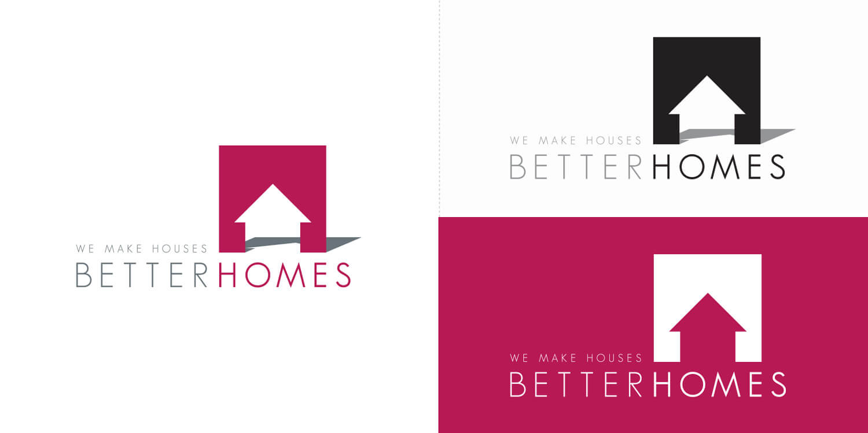 Better Homes logo variations