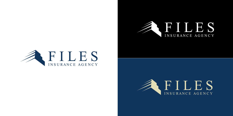 Files Insurance Agency Logo Design