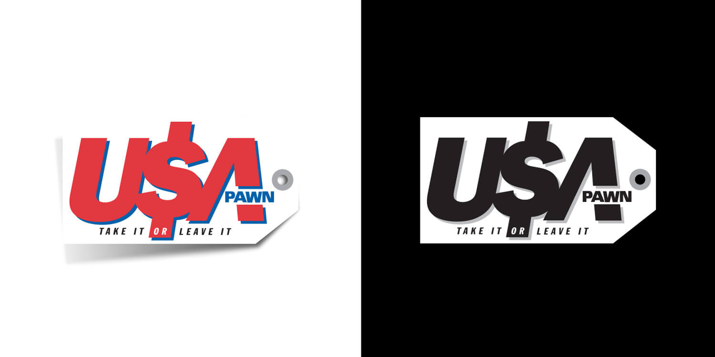 USA Pawn Branding