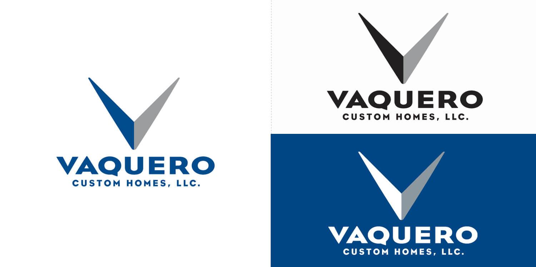 Vaquero Custom Homes Logo Design
