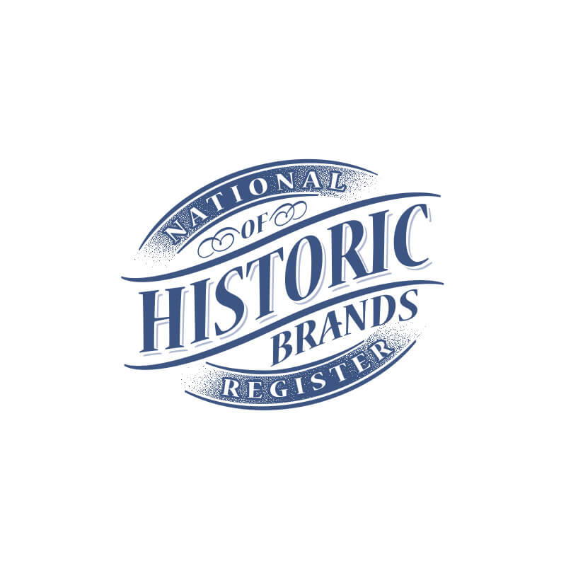 National Register of Historic Brands Logo Design