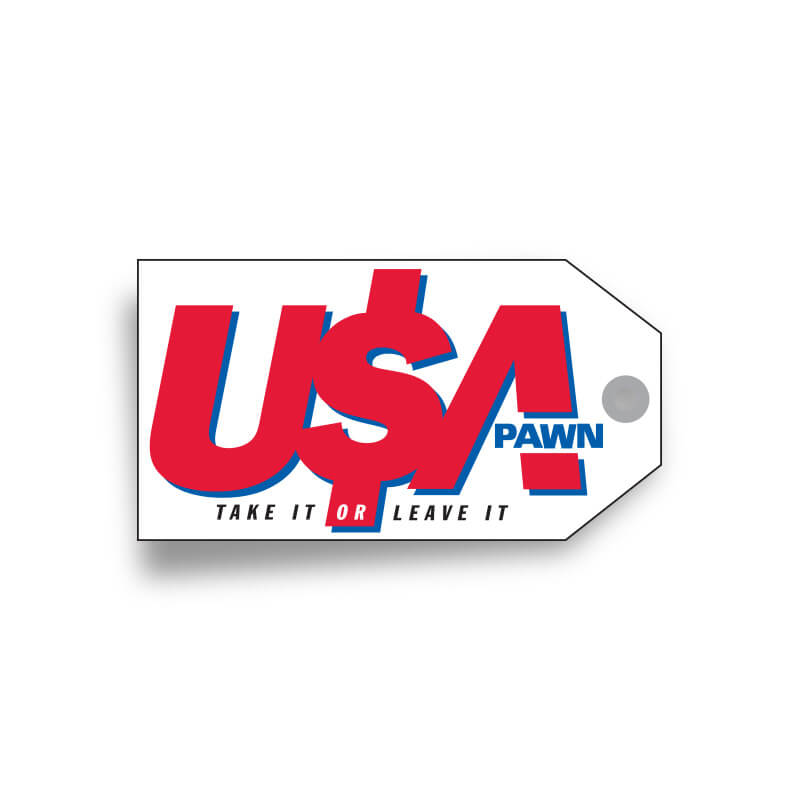 USA Pawn Logo Design