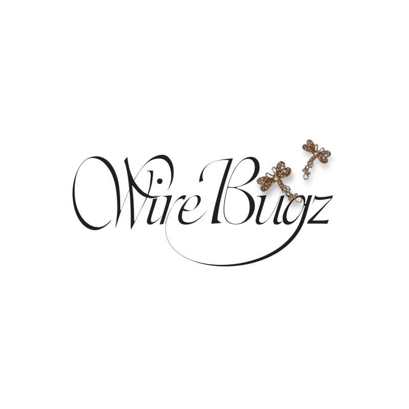 Wire Bugs Jewelry Logo Design