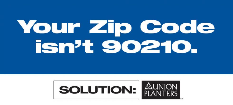 Union Planters Bank Outdoor Billboard - 90210