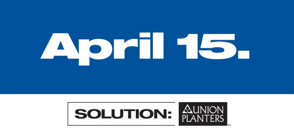Union Planters Bank Outdoor Billboard - April 15