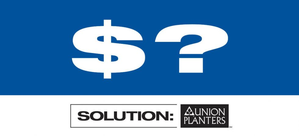 Union Planters Bank Outdoor Billboard - Money Questions