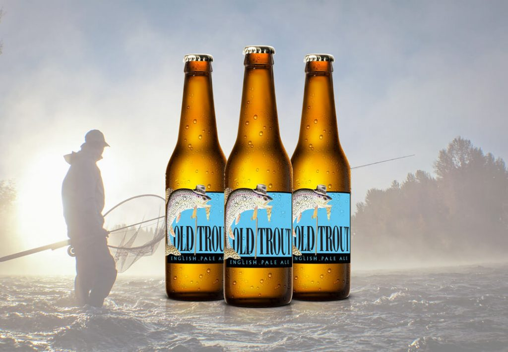 Beer Packaging Design for Old Trout
