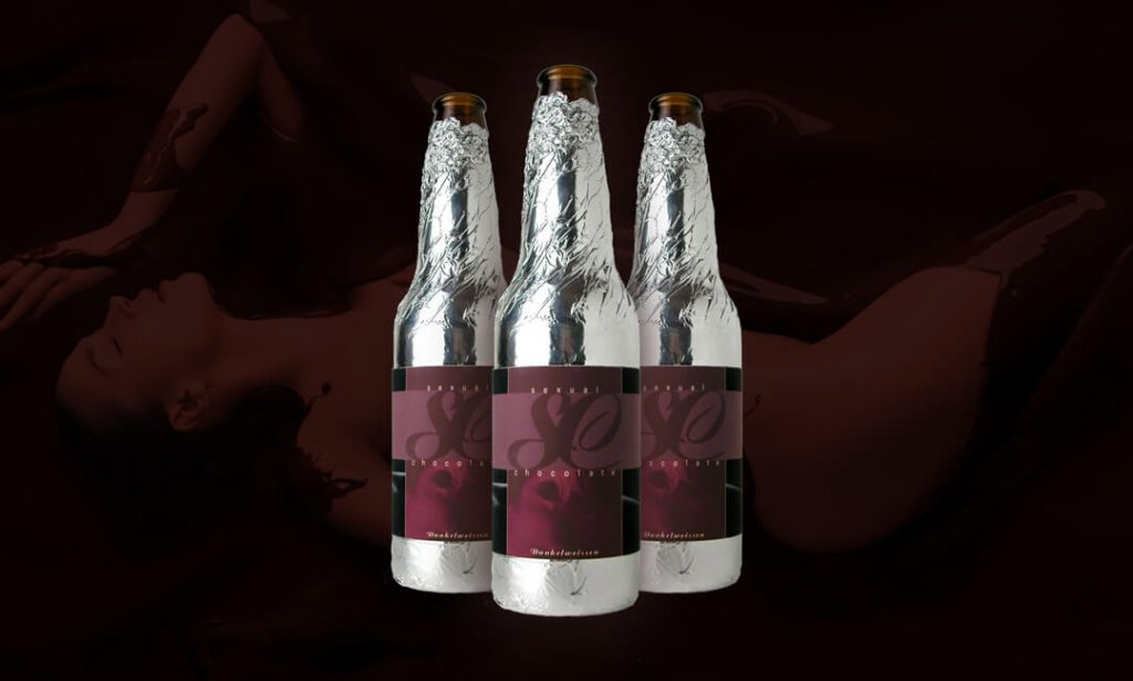 Beer Packaging Design for Sexual Chocolate
