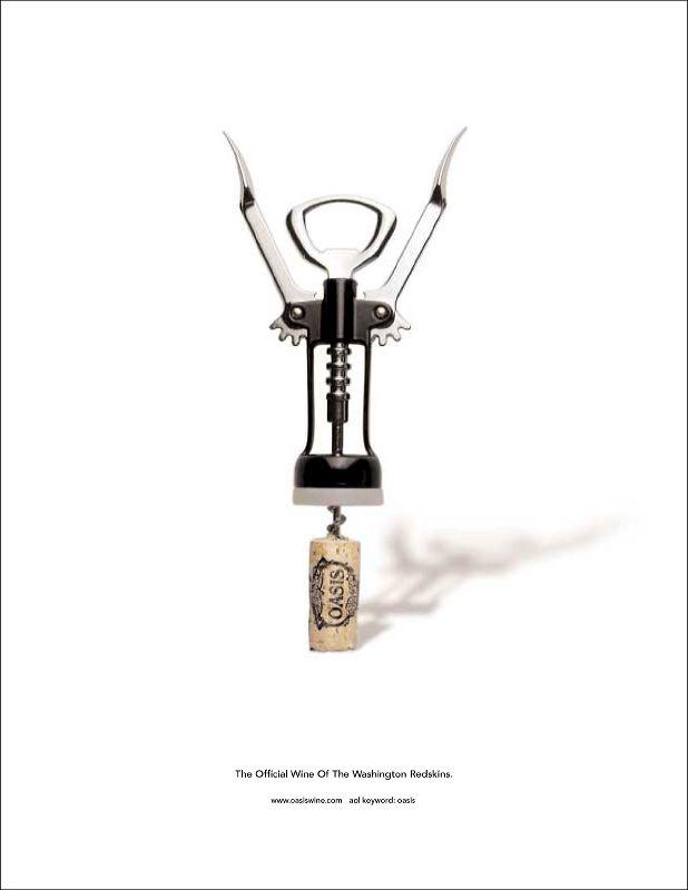 Oasis Winery Print Ad