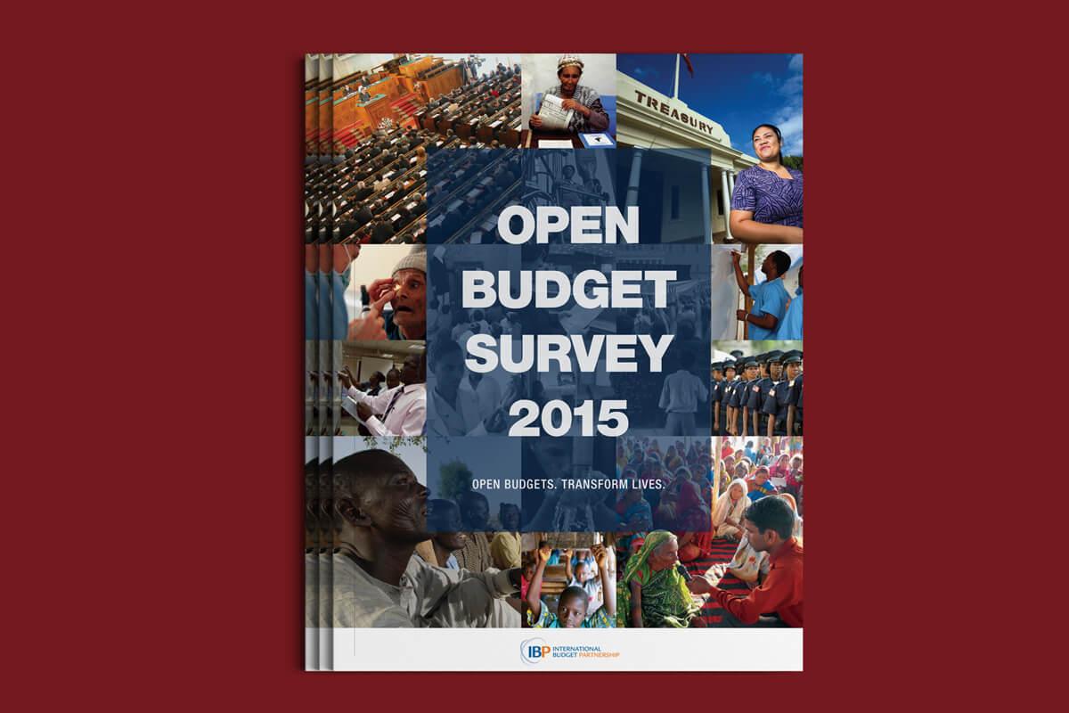 International Budget Partnership Open Budget Survey 2015 Cover Design