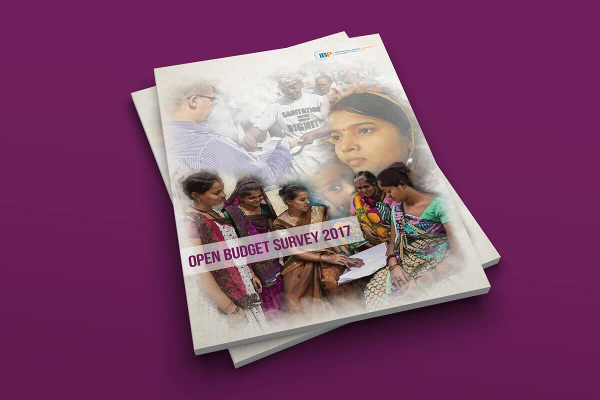 International Budget Partnership Open Budget Survey 2017 Cover Design