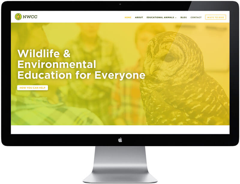 Nashville Wildlife Conservation Center Website Design