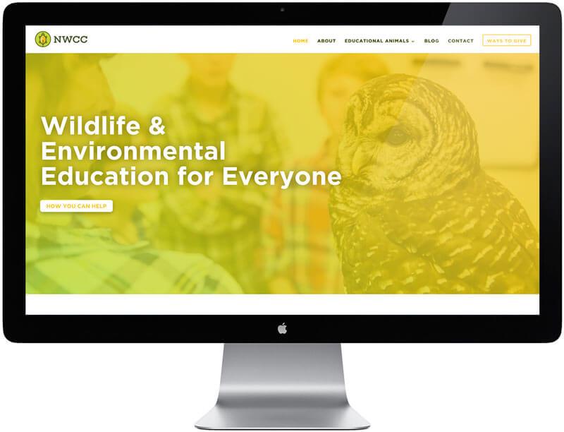 Nashville Wildlife Conservation Center Website Design