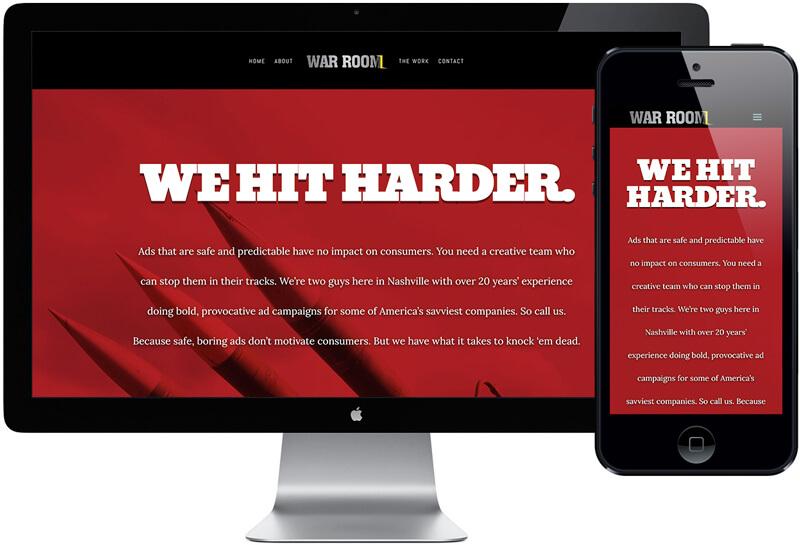 War Room Creative Website Design